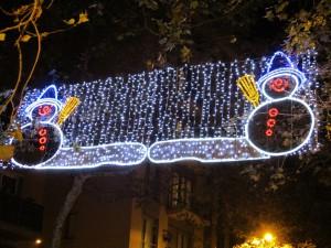 バルセロナクリスマスイルミネーション